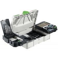Festool Montážní balíček SYS 1 CE-SORT Vrtací nástroje