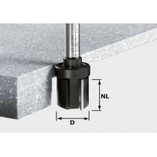 Festool Falcovací fréza HW stopka 12mm HW D28/25 ss S12 Stopkové frézy - D12mm pro obrábění polymerových materiálů