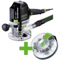 Festool Horní frézka OF 1400 EBQ-Plus + Box-OF-S 8/10x HW