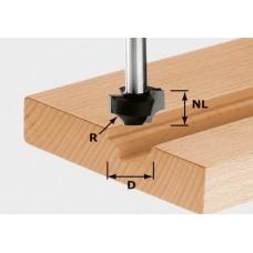 Festool Čtvrttyčová fréza HW, stopka 8 mm HW S8 D17/R3 Frézovací nástroje