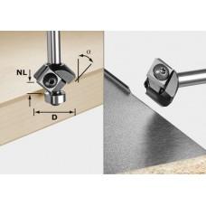 Festool Fazetovací fréza svýměnnými břity HW S8 HW 45° D27 12x12 KL Frézovací nástroje pro hranovou frézku OFK/MFK 700