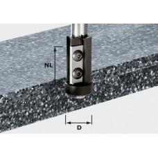 Festool Lícovací fréza svýměnnými břity HW, stopka 12 mm HW S12 D21/30WM Stopkové frézy - D12mm pro obrábění polymerových materiálů