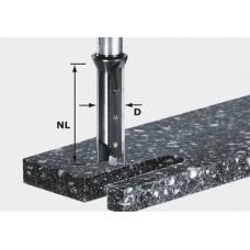 Festool Drážkovací fréza svýměnnými břity HW, stopka 12 mm HW S12 D14/45 WM Stopkové frézy - D12mm pro obrábění polymerových materiálů