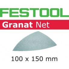 Festool Brusivo s brusnou mřížkou STF DELTA P100 GR NET/50 Brusivo pro vibrační brusky