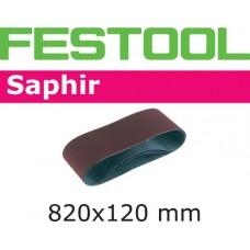 Festool Brusné pásy pro Compact CMB120 820x120-P100-SA/10 Brusivo pro brusné ježky a válečky