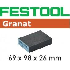 Festool Brusná houba 69x98x26 120 GR/6 Špalíky pro ruční broušení abrusivo pro ruční broušení