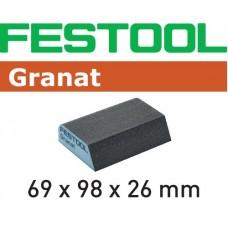 Festool Brusná houba 69x98x26 120 CO GR/6 Špalíky pro ruční broušení abrusivo pro ruční broušení