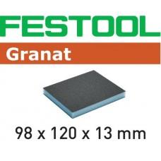 Festool Brusná houba 98x120x13 120 GR/6 Špalíky pro ruční broušení abrusivo pro ruční broušení