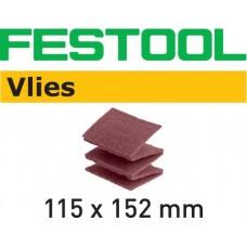 Festool Brusné kotouče vlies 115x152 FN 320 VL/30 Špalíky pro ruční broušení abrusivo pro ruční broušení