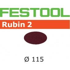 Festool Brusné kotouče STF D115 P100 RU2/50 Brusivo pro pásové brusky